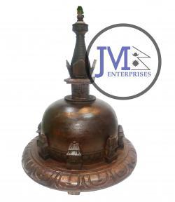 Wooden Stupa