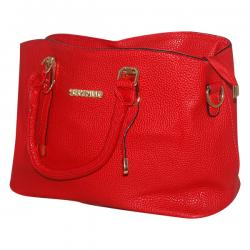 Dark Red Ssynvo Fancy Hand Bag For Ladies - JRB-0014