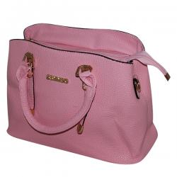 Light Pink Ssynvo Fancy Hand Bag For Ladies - JRB-0016