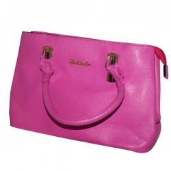 Dark Pink Fashionable Handbag For Ladies - JRB-0023