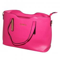 Light Pink 2 in 1 Handbag Set - Fancy Bag & Purse - JRB-0028