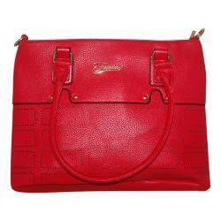 Dark Red Fxwang Casual Handbag For Ladies - JRB-0031