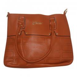 Dark Brown Fxwang Casual Handbag For Ladies - JRB-0032