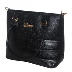 Dark Black Women Fashion Handbag - JRB-0033