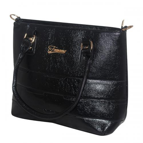 Dark Black Women Fashion Handbag - JRB-0033