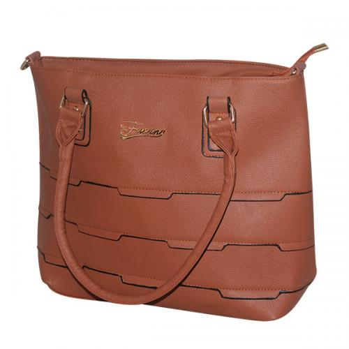 Dark Brown Women Fashion Handbag - JRB-0034