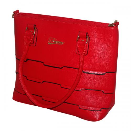 Dark Red Women Fashion Handbag - JRB-0035