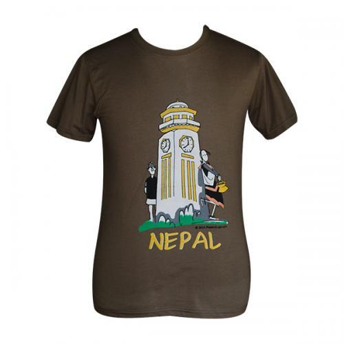 Ghanta Ghar Nepal Printed T-Shirt - (PL-001)