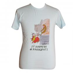 It Happens @ Pashupati - Round Necked T-Shirt - (PL-005)