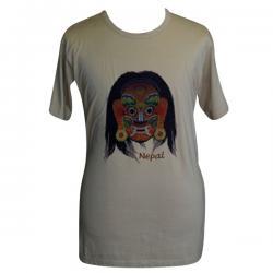 Bhairav Nepal Print - Round Necked T-Shirt - (PL-018)