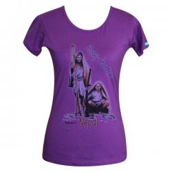 Huney Hunter Print - Round Necked T-Shirt - (PL-024)