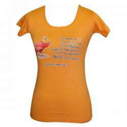 Danphe Print - Round Necked T-Shirt - (PL-026)