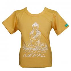Buddha Sketch - Round Necked T-Shirt - (PL-031)
