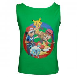 Pokemon Crew Printed Round Necked T-Shirt - (PL-047) - 20% OFF