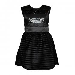 Dark Black Angel Frock For Girls - (PL-049) - 20% OFF