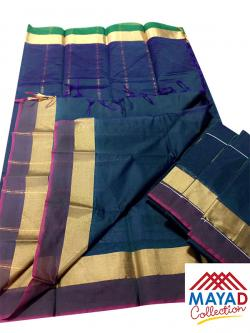 Sound Indian Cotton Silk Saree - (MDC-100)