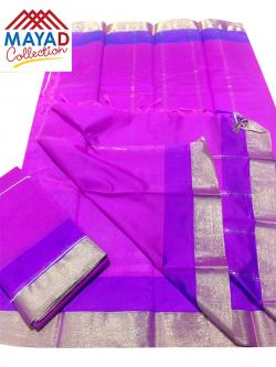 South Indian Cotton Silk Saree - (MDC-108)
