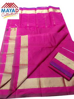 South Indian Cotton Silk Saree - (MDC-109)