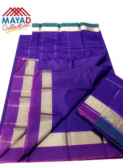 South Indian Cotton Silk Saree - (MDC-110)