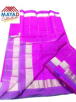 South Indian Cotton Silk Saree - (MDC-112)