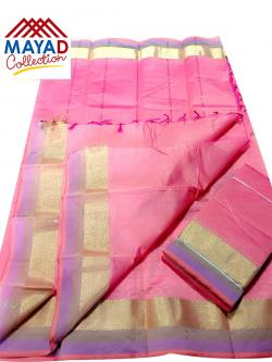South Indian Cotton Silk Saree - (MDC-115)