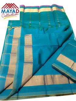 South Indian Cotton Silk Saree - (MDC-116)