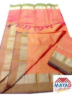 South Indian Cotton Silk Saree - (MDC-101)