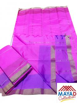 South Indian Cotton Silk Saree - (MDC-102)