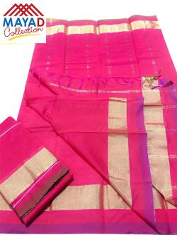 South Indian Cotton Silk Saree - (MDC-103)