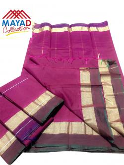 South Indian Cotton Silk Saree - (MDC-104)