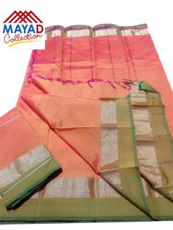 South Indian Cotton Silk Saree - (MDC-106)