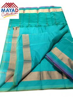 South Indian Cotton Silk Saree - (MDC-107)
