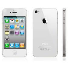 i phone 4 [colour white] with 1 cover free