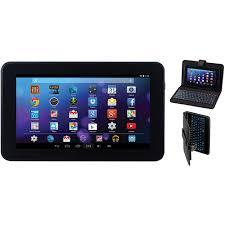 Icraig touch screen tablet 7 inch display with keyboard case, 2 earphone