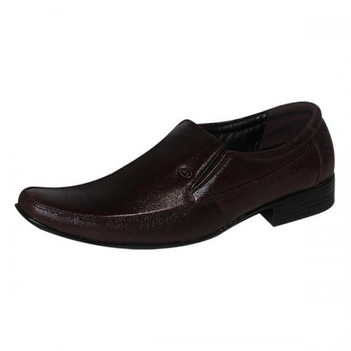 Dark Brown Color Leather Shoe For Men - (SS-5033)