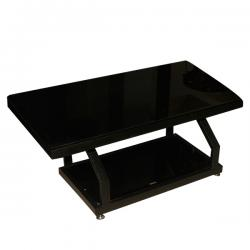 Dark Black Rectangular Table - FL220-28