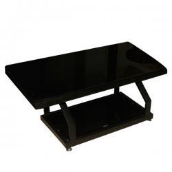 Dark Black Rectangular Table - FL220-28