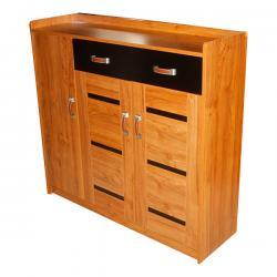 Brown Wooden Shoe Rack - FL620-37