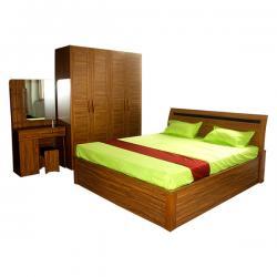 Wooden Three Piece Bedroom Set - FL417-16
