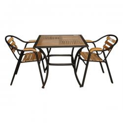 Two Seater Wooden Coffee Table - FL820-34