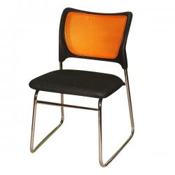 Dark Black Colored Office Chair - FL120-18