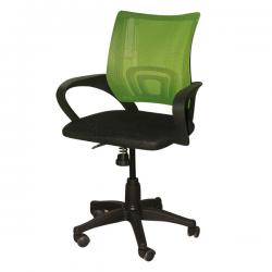 Dark Black Office Chair - FL120-16