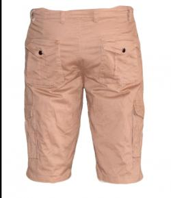 Mens' Box Half Pants / Shorts - Beige
