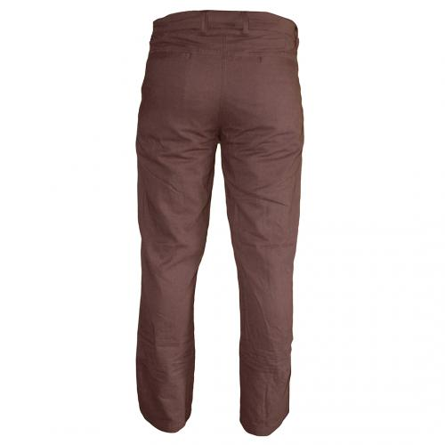 Cotton Pants for Men - Brown
