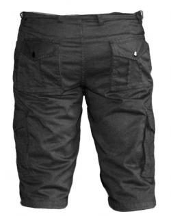 Mens' Box Half Pants / Shorts - Black