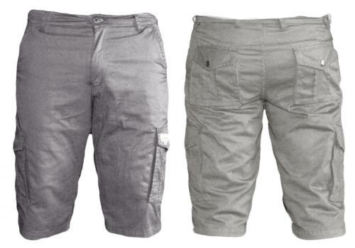 Mens' Box Half Pants / Shorts - Grey
