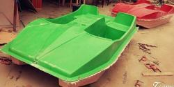 peddal boat, 4 seater boat