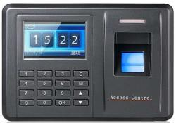 Time Attendance and Access Control System with Blue Ray Finger print, Card & Pin