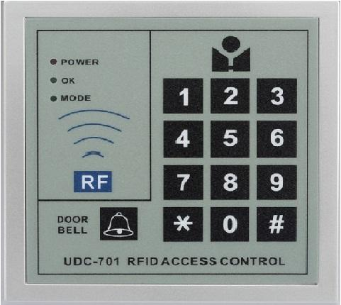 500 users standalone access controll