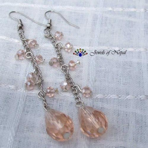 Chain n Drop Earrings